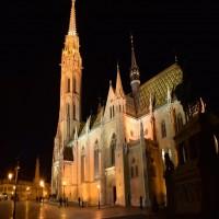 Mátyás Templom - Külső díszvilágítás