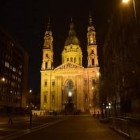 Szent istván Bazilika - Külső díszvilágítás