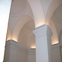 Szent István Bazilika - Altemplom világítása
