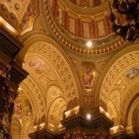Szent István Bazilika - Beltéri világítása